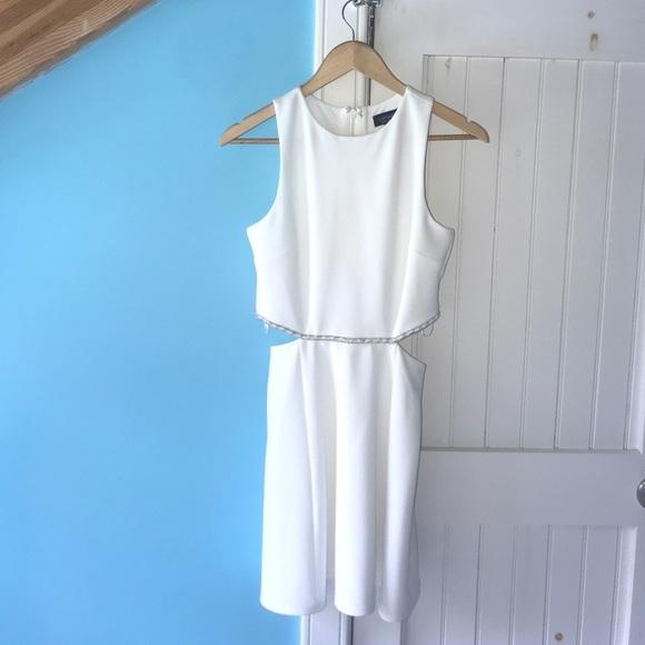 Topshop Dresses White Formal Dress Poshmark
